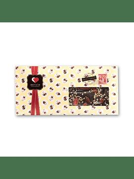 Tablete de Chocolate Negro c/ Goji e Sementes
