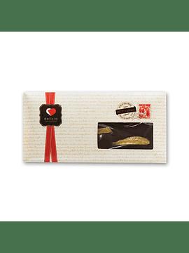 Tablete de Chocolate Negro c/ Laranja
