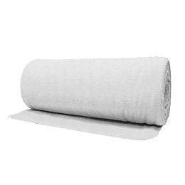 Rollo de Franela Blanca de 50 cm x 50 m
