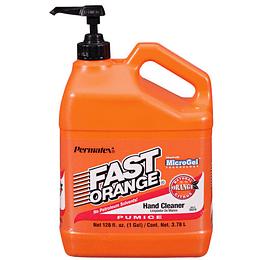 Limpiador de manos Fast Orange Galón con Dispensador
