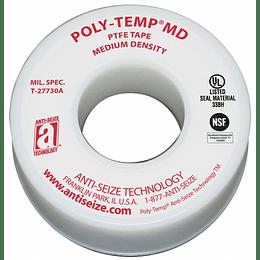 """Cinta de Teflón Poly Temp 3/4"""" x 520 Modelo 16050"""