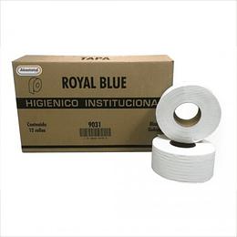 Caja de higiénico jr. Con 12 rollos Marca Institucional