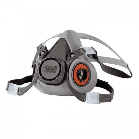 Respirador Media Cara Mediano 3M, Modelo 6200