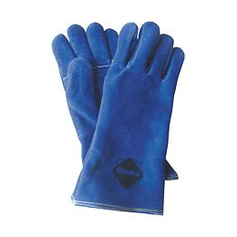 """Guantes para soldador 14"""" Azul"""