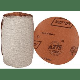 """Disco Abrasivo de Lija en Rollo de 6"""" G-100 Caja 100"""