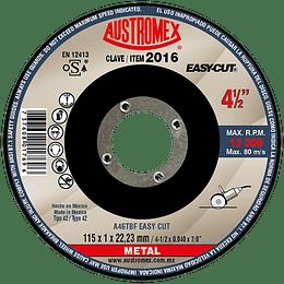 "Disco Abrasivo 4 1/2"" x 7/8"" Easy Cut"