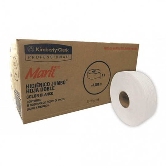 Higienico jumbo marli 6 pzas 5940