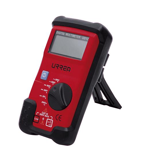 Multímetro compacto 600 VCD/600 VCA Urrea UD12