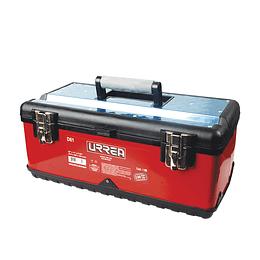 Caja portaherramientas metálica uso ligero 51x28x22cm Urrea D61