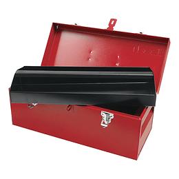 Caja portaherramientas metálica 45.5x19.5x19.5cm Urrea D4