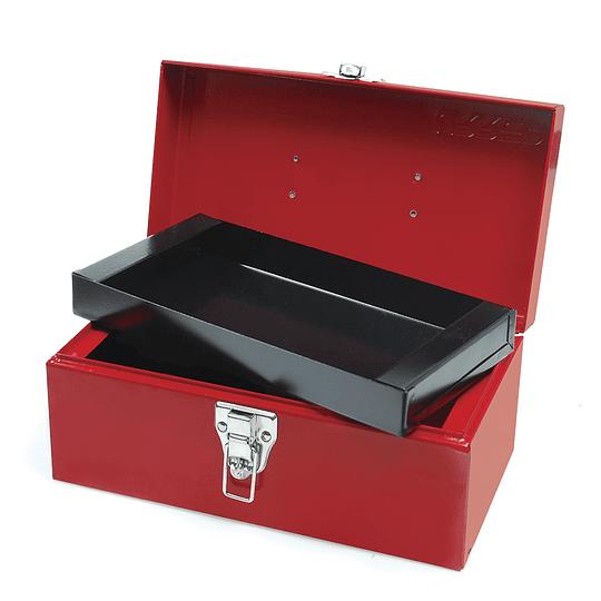 Caja portaherramientas metálica 30 x 16 x 14.5cm Urrea D1