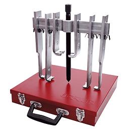 Juego extractor quijada recta 10ton 12pz caja metálica Urrea 4234B