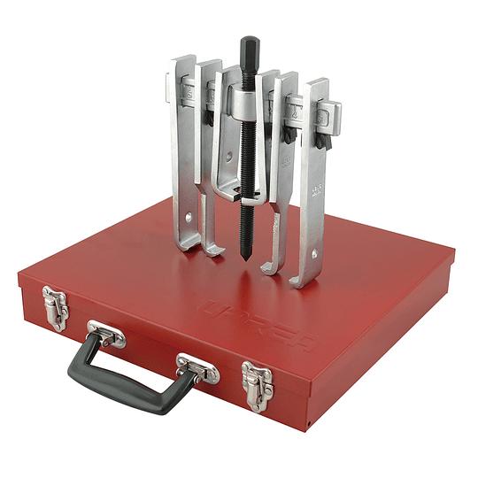 Juego extractor quijada recta 6ton 12 pz caja metálica Urrea 4213B