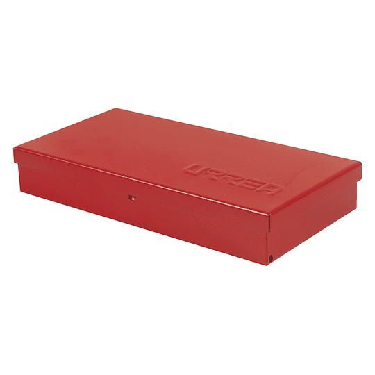 Caja metálica juegos y usos múltiples 24.5x12.5x4cm Urrea 4725