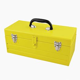 Caja portaherramientas metálica 40x18.2x16.3cm Surtek CM16