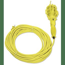 Lámpara de taller con canastilla plástica 8m Surtek 136094