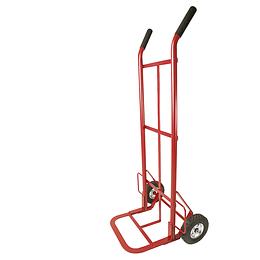 """Diablo bodeguero rojo llanta sólida 8"""" 400kg Surtek DBS400R"""