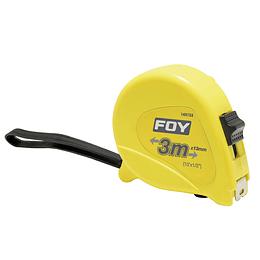 "Flexómetro 3m x 1/2"" amarillo Surtek 142123"