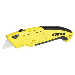 Navaja utilitaria retráctil alimentación rápida Surtek NF12