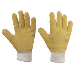 Guantes grandes de algodón con recubrimiento de látex Surtek 137415