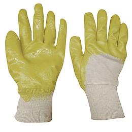 Guantes medianos de algodón recubrimiento de nitrilo Surtek 137414