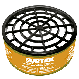 Cartucho para respirador para pintura en spray Surtek 137355