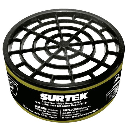 Cartucho para respirador para vapores orgánicos Surtek 137353