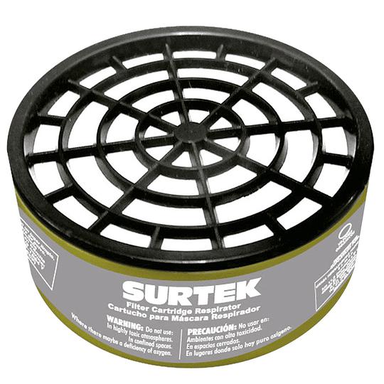Cartucho para respirador para vapores inorgánicos Surtek 137356