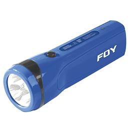 Linterna recargable de plástico 3 LED Foy 144095