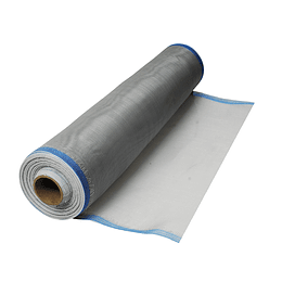 Tela para mosquitero plástico gris 0.90x30m en bobina Surtek 138115