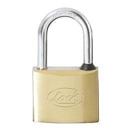 Candado de latón largo llave estándar 50mm Lock L20L50EB