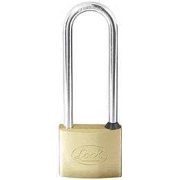 Candado de latón extra largo llave estándar 50mm Lock L20X50EB
