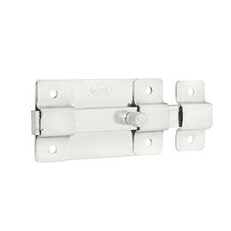 Pasador de sobreponer 5 cm níquel satinado Lock L035NIB