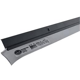 Guardapolvo color negro 100 cm Lock LGP100N