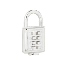 Candado digital corto 40 mm cromo brillante Lock C27C40