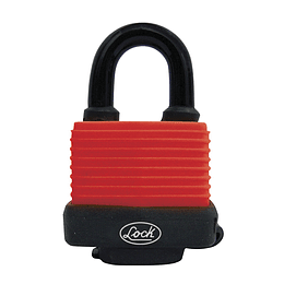 Candado impermeable corto 40 mm Lock C25S40