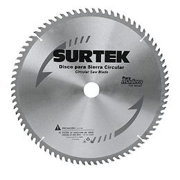 "Disco para sierra circular 8 1/4"" 24 dientes Surtek 120610"