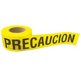 """Cinta barricada """"Precaución"""" 304 mt Surtek 137300"""