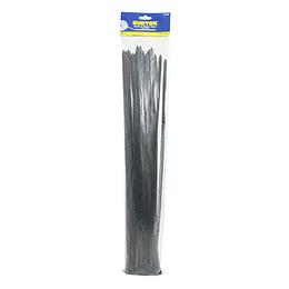 Cincho plástico 368 x 4.6mm 25 piezas negro Surtek 114215