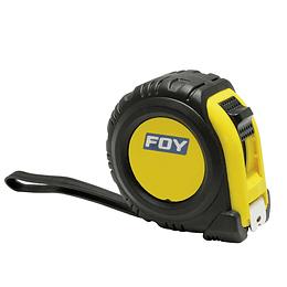 """Flexómetro anti impacto 5m x 3/4"""" Foy 142063"""