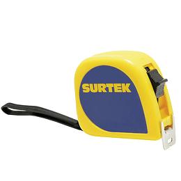 Flexómetro de invencible 8m x 1 Surtek B122072
