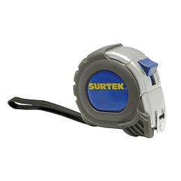 """Flexómetro anti-impacto silver 5m x 1"""" Surtek B122086"""