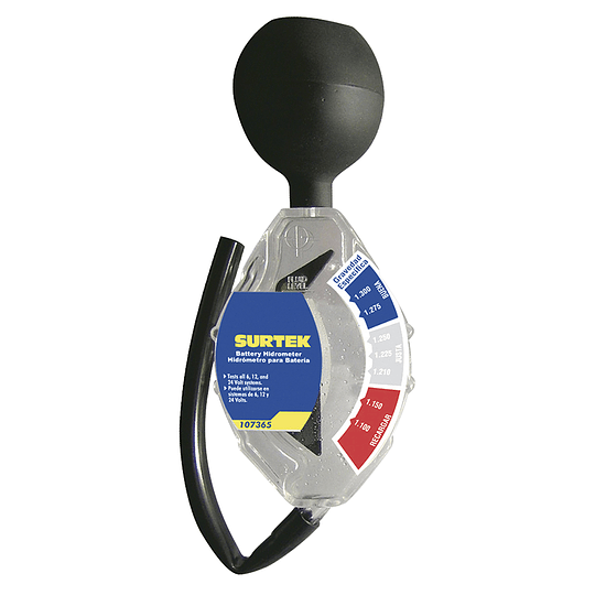 Hidrómetro para batería Surtek 107365