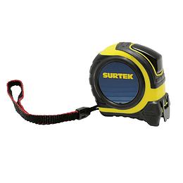 "Flexómetro rubber grip 8m x 1"" Surtek B122075"