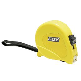"""Flexómetro 5m x 3/4"""" amarillo Foy 142124"""