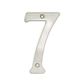 "Numero 7 slim 4"" cromo satinado Lock L6807CS"