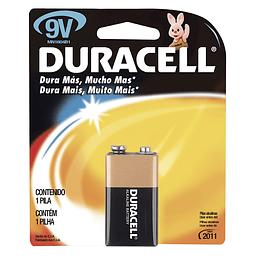 Pila alcalina marca Duracell® 9V Surtek MN1604
