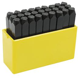 Juego de letras de golpe 4mm Surtek 117224
