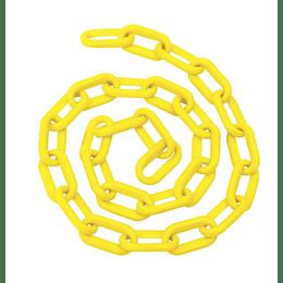 "Cadena plástica 8 mm x 5/16"" 25 mt 80 kg amarilla Foy 143425"
