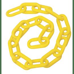 "Cadena plástica 6 mm x 1/4"" 25 mt 40 kg amarilla Foy 143421"